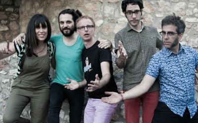 Lluís Gavaldà i els Trau | Foto: Minipop.cat Autor: Jaime Rojas