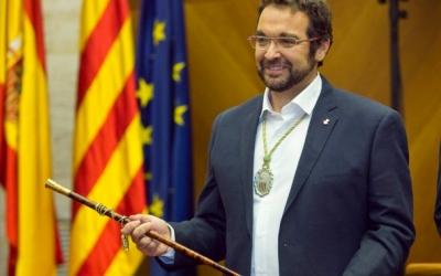 L'alcalde Juli Fernández el dia de l'investidura |Foto:  Juanma Peláez