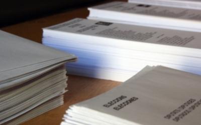 Paperetes durant les eleccions del 27 de setembre de 2015 | ACN