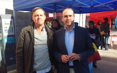 Daniel Serrano i Esteban Gesa al Mercat de la Creu Alta | Pau Duran
