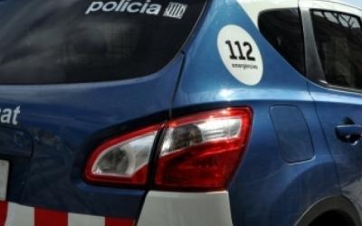 Imatge d'un cotxe dels Mossos d'Esquadra