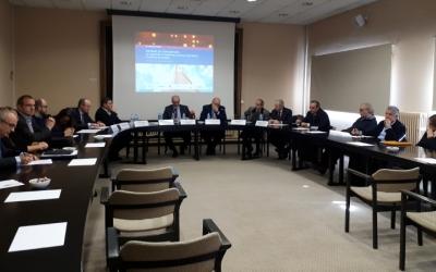 Els reponsables de l'Informe de Conjuntura l'han presentat avui al Gremi de Fabricants/ Karen Madrid