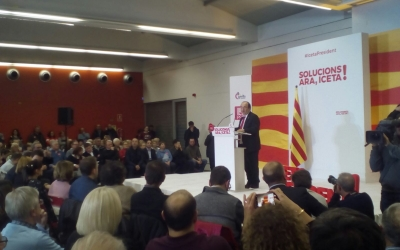 Acte central del PSC a Sabadell