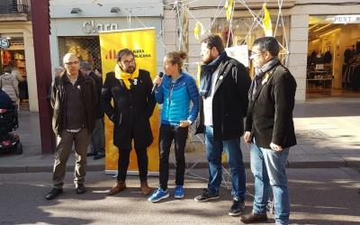 Núria Picas al vermut republicà d'ERC a Sabadell