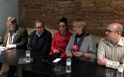 Els responsables d'Acuna Patata han presentat avui el seu projecte/ Albert Garcia