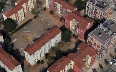 Panoràmica dels edificis afectats dels Merinals | Google Maps