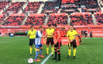 Marc Martínez ha actuat com a capità a Palma per l'absència del sancionat Migue | RCD Mallorca