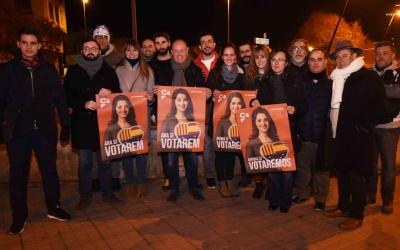 Ciutadans Sabadell a la plaça de la Concòrdia | Roger Benet