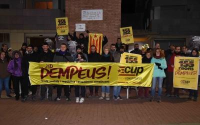 Una cinquantena de militants han presentat la campanya | Roger Benet