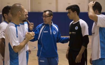 Diego Blanco i els seus se la juguen contra el quart classificat | Roger Benet