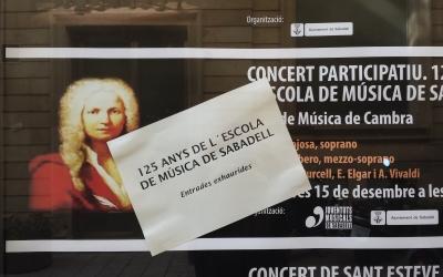 Cartell d'entrades exhaurides al Teatre Principal | Pau Duran