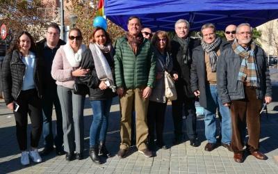 Parada informativa del PP a la plaça del Pi | Pau Duran