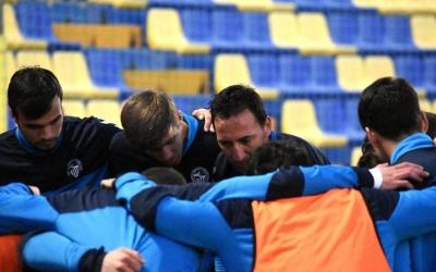Migue González, el capità del Sabadell, es marca objectius realistes | Crispulo D.