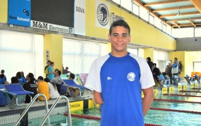 Óscar Salguero defensa l'or als 100 braça dels Jocs Paralímpics de Rio