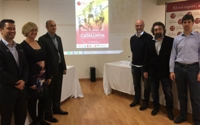 Foto de família de la presentació del Campionat | Marc Pijuan