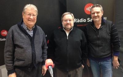 Salvador Soley, Joan Nadal i Gregorio Rodríguez. | Foto: Ràdio Sabadell