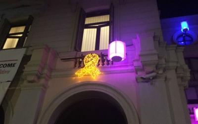 Els llaços grocs són alguns dels símbols que s'haurien de retirar segons la Junta Electoral Central/ Roger Benet