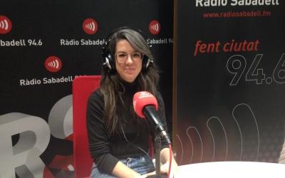 Núria Llorca, membre de la Comissió Artística de l'Acadèmia de Belles Arts de Sabadell. | Foto: Raquel García