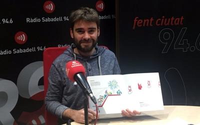 David Vila ha mostrat el seu nou llibre a Ràdio Sabadell/ Raquel Garcia