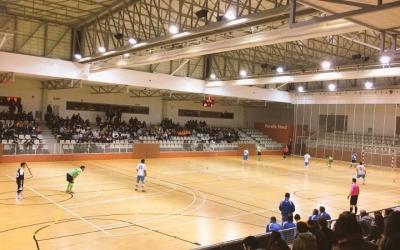 El partit es va disputar al Pavelló del Nord | Joan Barberà