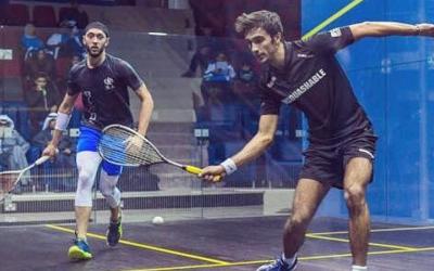 Iker Pajares en un punt de l'Open de Kuwait