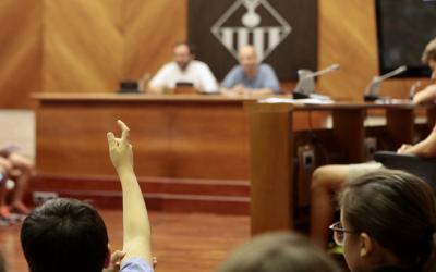 Sessió de Els nois i noies prenen la paraula/ Ajuntament de Sabadell