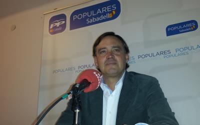 Esteban Gesa a la roda de premsa | Pau Duran