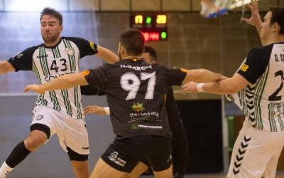 Bernat Correro amb 10 gols va ser el referent ofensiu de l'OAR