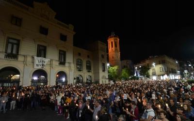 Concentració a la plaça del Doctor Robert | Foto: Roger Benet