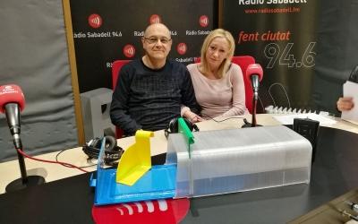 Els inventors castellarencs a Ràdio Sabadell | Clàudia Martínez