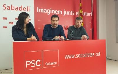 Roda de premsa del PSC | Pau Duran