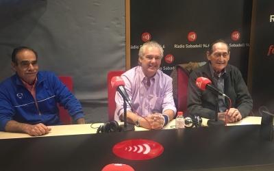 Els presidents de les colles organitzadores a Al Matí de Ràdio Sabadell | Ylenia García