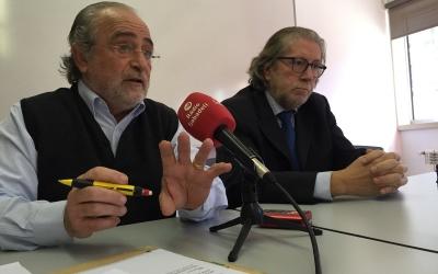 El doctor Tarrés i Mallart durant la roda de premsa | Foto: Ràdio Sabadell