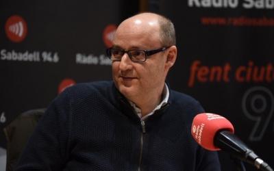 Antoni Reguant als estudis de Ràdio Sabadell | Roger Benet
