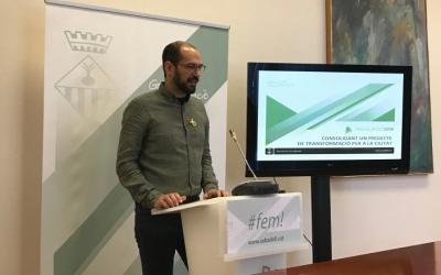L'alcalde, Maties Serracant, ha presentat els pressupostos del 2018.