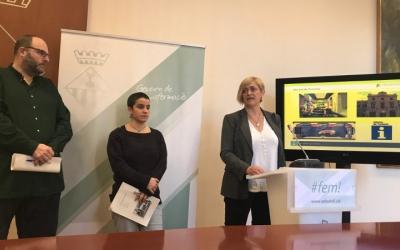 La tinent d'alcalde Marisol Martínez i els regidors Glòria Rubio i Miquel Soler han presentat els pressupostos de la seva àrea.