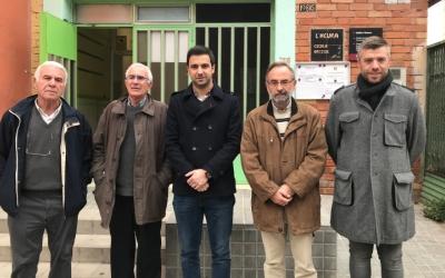 El PSC i l'associació de veïns reclamen una escola bressol per al barri de la Concòrdia.