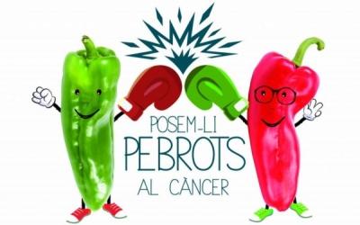 """Logo de la campanya """"Posem-li pebrots al càncer""""   Foto: Cedida"""