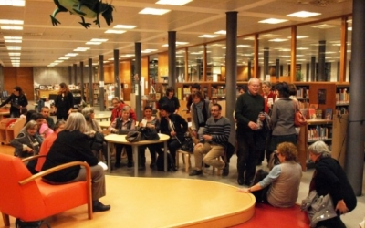 Imatge de la Biblioteca Vapor Badia | Foto: Ràdio Sabadell