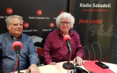 Eduardo Torres (esquerra) i Ricardo Rosso, representants de Nova Participació/ Ràdio Sabadell