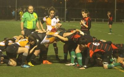 Les Partisanes van sumar el primer triomf a Alella | Alella Rugbi Club