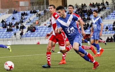 El Badalona es va imposar al Sabadell per 1 gol a 0   Sendy Dihor