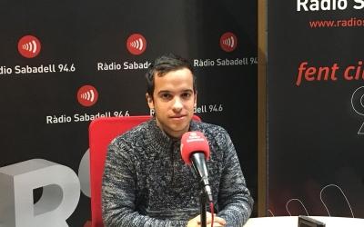 Fèlix Colomer aquest matí als estudis de Ràdio Sabadell | Ylenia García