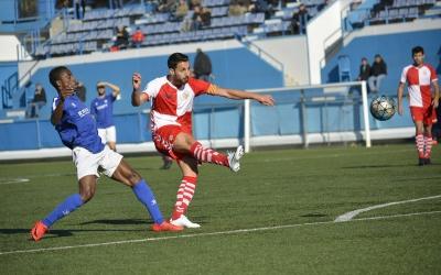 Sergi Estrada, màxim golejador del filial arlequinat | Félix Sancho
