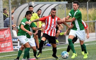 Imatge d'un partit entre Tibidabo i Badia d'aquesta temporada