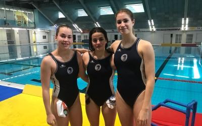Nona Pérez, Sofía Miró i Nadia Lopera dissabte a Can Llong | Adrián Arroyo