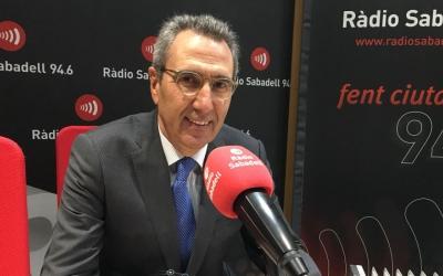 Martí Solà, director de la Fundació Gas Natural Fenosa, ha passat avui per Ràdio Sabadell/ Mireia Sans