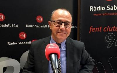 El doctor Joan Martí, a Ràdio Sabadell/ Mireia Sans