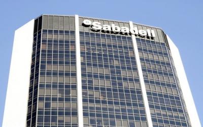 Oficines de Barcelona del Banc Sabadell | Foto: ACN