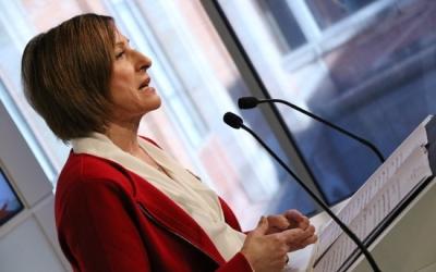 Forcadell durant la compareixença al Parlament de Catalunya. | Foto: ACN